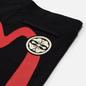 Мужские шорты Evisu Free Hand Printed Daicock & Kamon Black фото - 2