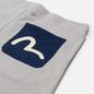 Мужские шорты Evisu Seagull Printed Pocket Heather Grey фото - 2