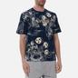 Мужская футболка Evisu Fujin-Raijin Greyscale All Over Printed Dark Navy фото - 2