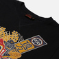 Мужская футболка Evisu Godhead x Bonsai Printed Crew Neck Black фото - 1