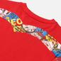 Женская футболка Evisu Heritage All Over Printed Boyfriend Chinese Red фото - 2