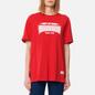 Женская футболка Evisu Heritage All Over Printed Boyfriend Chinese Red фото - 3
