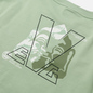 Женская толстовка Evisu Godhead Printed Wide Neck Off-Shoulder Light Green фото - 2