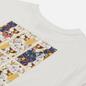 Женская футболка Evisu Forture-Cat Wallpaper Foil Print Off White фото - 2
