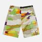 Мужские шорты MSGM Melting Colors Print Beige фото - 0