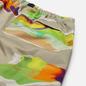 Мужские шорты MSGM Melting Colors Print Beige фото - 2