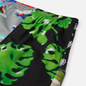 Мужские шорты MSGM Patchwork Prints Black/Green фото - 1