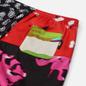 Мужские шорты MSGM Patchwork Prints Black/Green фото - 2