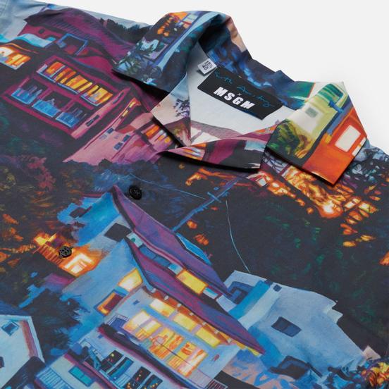Мужская рубашка MSGM x Seth Armstrong Capsule Print 2 Multicolor