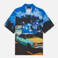 Мужская рубашка MSGM x Seth Armstrong Capsule Print 1 Multicolor фото - 0