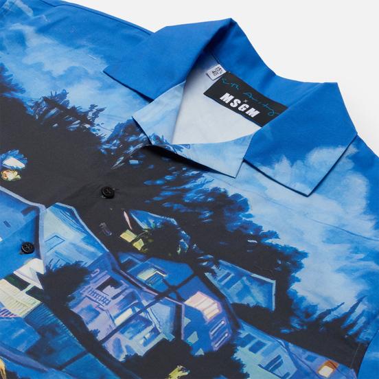 Мужская рубашка MSGM x Seth Armstrong Capsule Print 1 Multicolor
