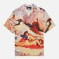 Мужская рубашка MSGM x Seth Armstrong Capsule Print 3 Beige фото - 0