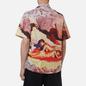 Мужская рубашка MSGM x Seth Armstrong Capsule Print 3 Beige фото - 3