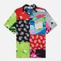 Мужская рубашка MSGM Patchwork Prints Lime Green фото - 0