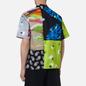 Мужская рубашка MSGM Patchwork Prints Lime Green фото - 3