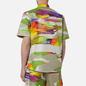 Мужская рубашка MSGM Melting Colors Print Beige фото - 4