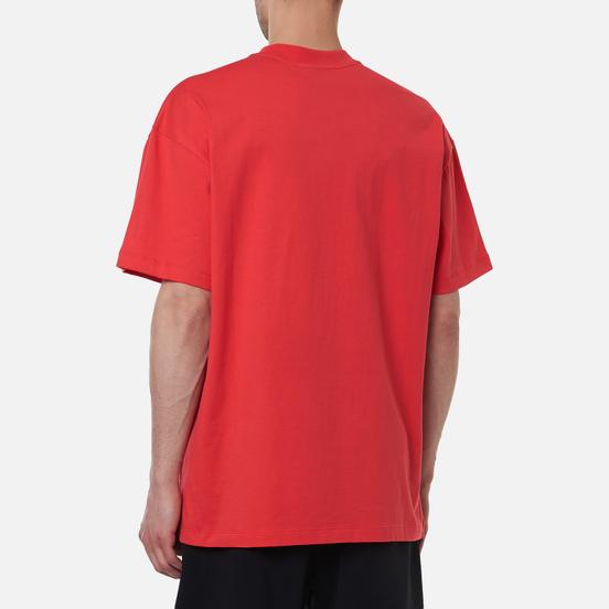 Мужская футболка MSGM Box Comics Crew Neck Strawberry Red