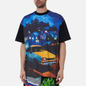 Мужская футболка MSGM x Seth Armstrong Capsule Print 1 Black фото - 3