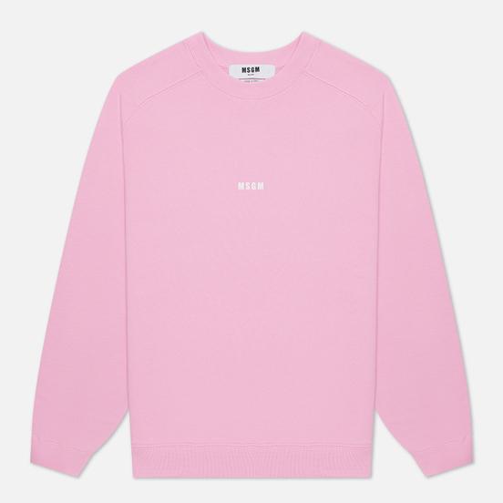 Мужская толстовка MSGM Micrologo Pink