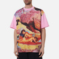 Мужская футболка MSGM x Seth Armstrong Capsule Print 3 Pink фото - 3