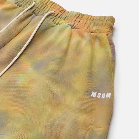 Женские шорты MSGM Tie Dye Multicolor
