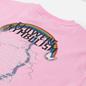 Женская футболка MSGM Time Catching Pink фото - 2