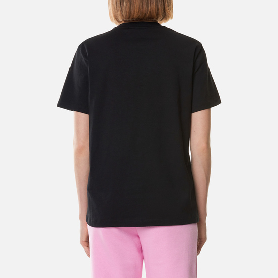 Женская футболка MSGM Cute Logo Box Black