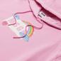 Женская толстовка MSGM Cute Logo Box Hoodie Pink фото - 1