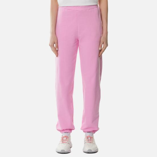 Женские брюки MSGM Micrologo Pink