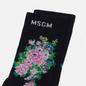 Носки MSGM Bouquet Flowers Black фото - 1