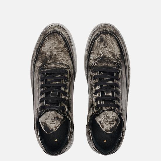 Мужские кроссовки Filling Pieces Low Top Ripple Shade Black