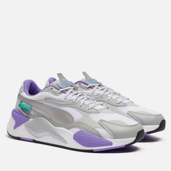 Мужские кроссовки Puma x Mercedes AMG Petronas Motorsport RS-X3 Silver/White/Purple