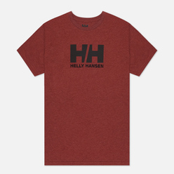 Мужская футболка Helly Hansen HH Logo Redwood Melange