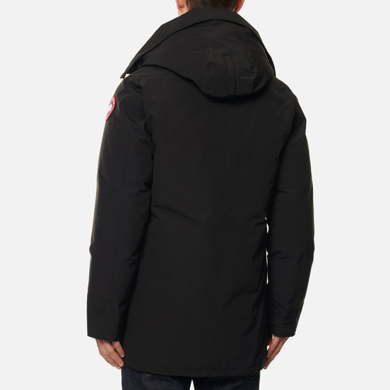 Мужская куртка парка Canada Goose Chateau No Fur Black