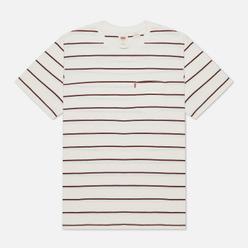 Мужская футболка Levi's Sunset Pocket Relaxed Stripe Tofu