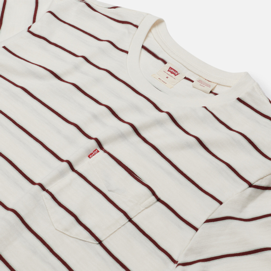 Мужская футболка Levi's Sunset Pocket Relaxed Stripe Tofu