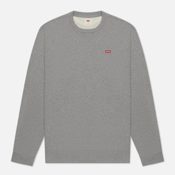 Мужская толстовка Levi's New Original Crew Chisel Grey Heather