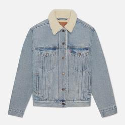 Женская джинсовая куртка Levi's Ex-Boyfriend Sherpa Trucker Strangerways