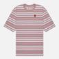 Мужская футболка Levi's Stay Loose Backyard Stripe Keepsake Lilac/Purple фото - 0