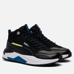 Мужские кроссовки Puma X-Ray 2 Square Mid WTR Black/Digi/Blue/Fizzy Yellow