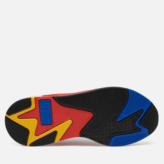 Мужские кроссовки Puma RS-X3 Millenium Black/Hi Risk Red/Lapis Blue