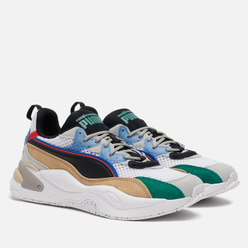 Мужские кроссовки Puma x The Hundreds RS-2K White Asparagus/Black