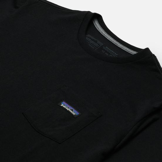 Мужская футболка Patagonia P-6 Logo Chest Pocket Responsibili-Tee Black