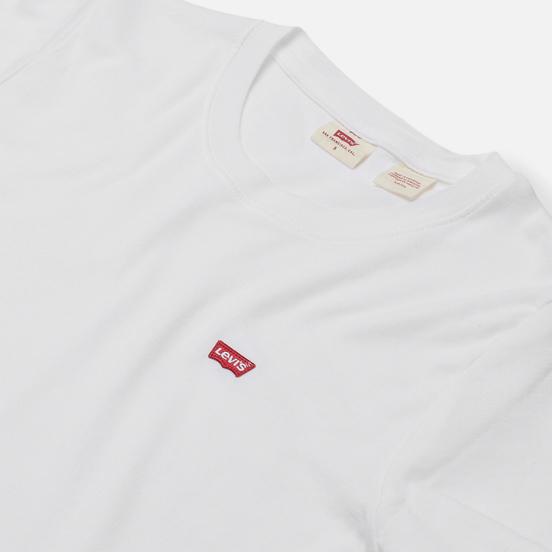 Женская футболка Levi's Rib Baby White