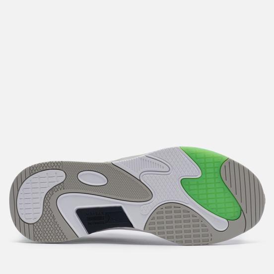 Кроссовки Puma RS-Fast Tech White/Gray Violet/Elektro Green