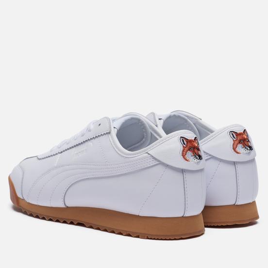 Кроссовки Puma x Maison Kitsune Roma White/White