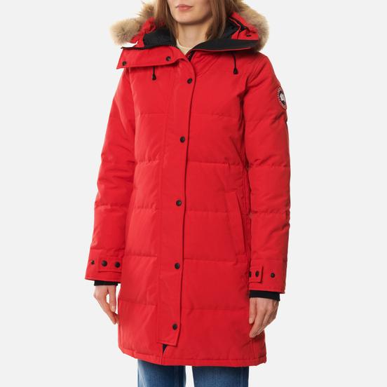 Женская куртка парка Canada Goose Shelburne Red