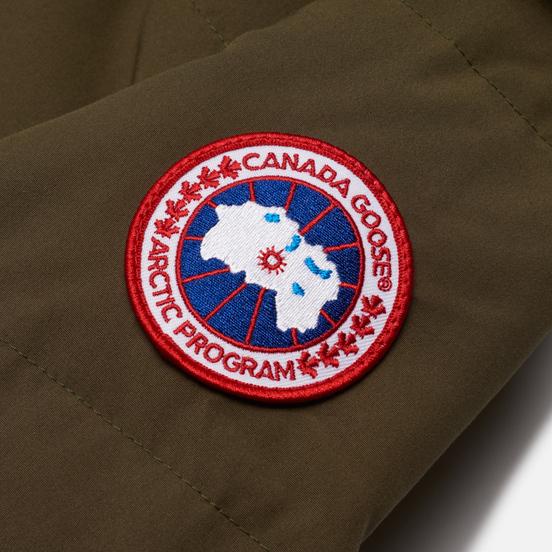 Женская куртка парка Canada Goose Shelburne Military Green