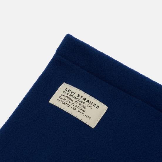 Шарф Levi's Fleece Neck Navy Blue