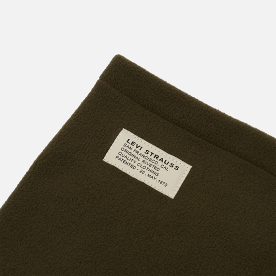 Шарф Levi's Fleece Neck Regular Green